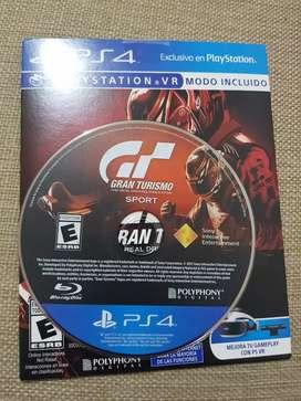 Gran Turismo Sport PS4 nuevo