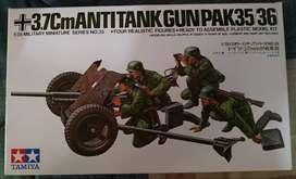 Figura Tamiya Antitank Gun