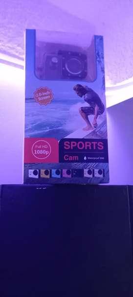 Cámara Acuática Sports Cam Deportes Foto Video