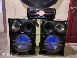 Equipo de sonido Marca Sonny