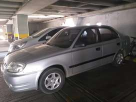 Se vende carro hunday excelente estado ganga