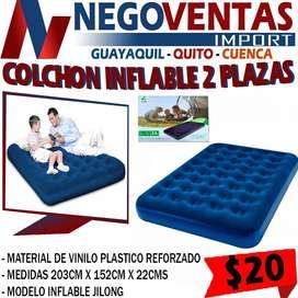 COLCHON INFLABLE DE DOS PLAZAS