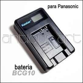 A64 Cargador Bateria Bcg10 Lumix Dmc-tz9 Tz30 Tzr3 Leica