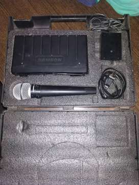 Vendo micrófono profesional samson