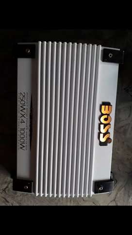 Potencia Boss 1000 watts 4 canales impecable