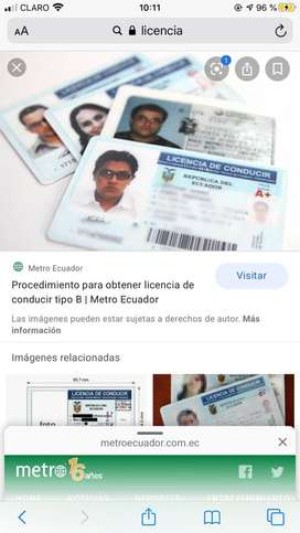 Licencias para carro y moto