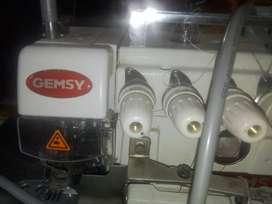 Maquinas industriales costura precio negociable una maquina recta y otra overlok