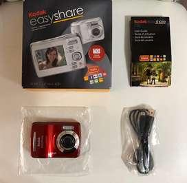 Camara Kodak Nueva Easy Share Roja 12 MP