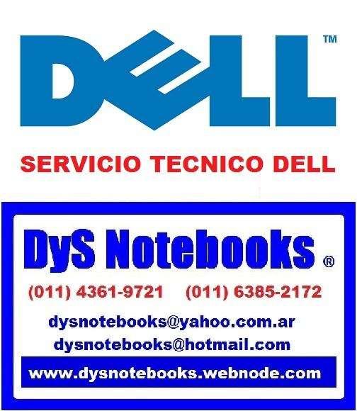 DELL SERVICIO TECNICO NOTEBOOK y NETBOOK 0