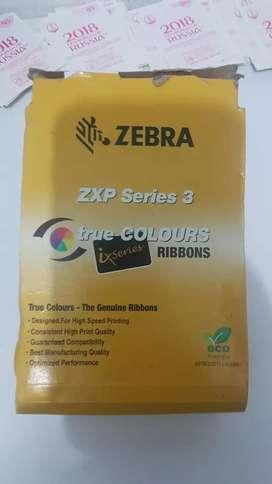 Cinta nueva para zebra así series 3