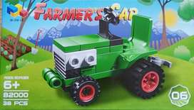 Bloques de tractor lego 2 en 1 de 38 piezas