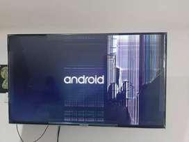 Televisor smart para repuestos