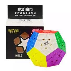 Cubo megaminx qiyi dodecaedro
