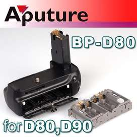 Grip Battery Batería Aputure BPD80 ENEL3e Camara Nikon D80 D90 MBD80