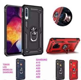 Funda Uso Rudo Samsung A10 A20 A30 A50 A70 A80/S10/ Samsung S10 Plus/ Samsung Note 10/ Note 10 Plus/ A30s/ A20s/ A50s