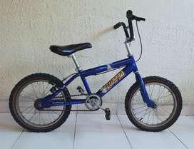 Cicla para Niño Azul Metalico