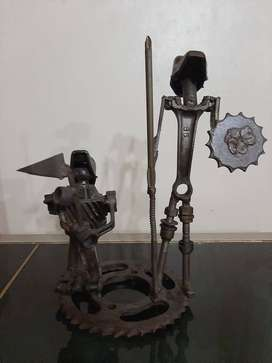 Adorno Don Quijote y Sancho Panza