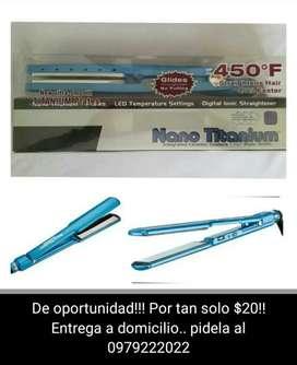 Plancha para cabello Nano Titanium