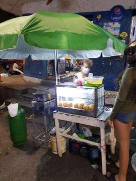 Vendo puesto de empanadas acreditado