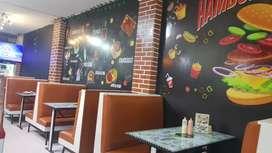 Ganga excelente negocio de comidas rápidas