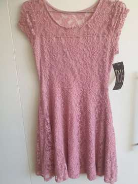 Vestido color lila