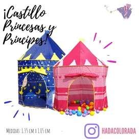 Castillo para princesas y principes