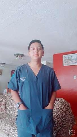 Busco empleo como auxiliar de enfermeria