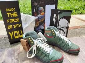 Zapatillas Adidas Star Wars Boba Fett Nuevas