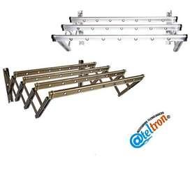 Tendederos importados fabricados aluminios resistentes inoxidables elegantes