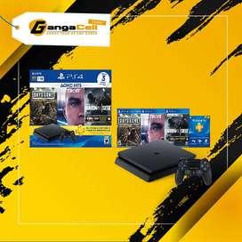Ps4 Nuevo Play Station 4 Sony 1TB Hits 5  3 Juegos Físicos  1 Mando Envios Gratis