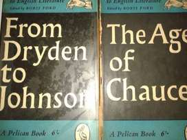 The Age Of Chaucer -o-From Dryden To Johnson