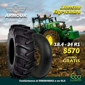 LLANTAS AGRÍCOLAS ARMOUR 18.4-34 R1