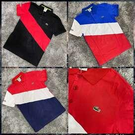 Camisetas tipo polo seda fría