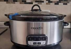 Olla nueva de cocción lenta marca Crock- Pot de 4-7 cuartos Programable
