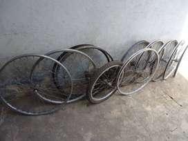 Lote de ruedas, 28 semitubo, 26 x 1/2, 26