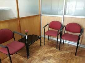 mobiliario para sala de espera