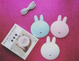Espejo Led Conejo Portable