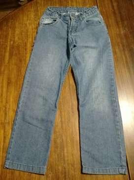 Pantalón Jean Niño Tall 4 Marca Leutthe