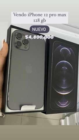 Iphone 12 pro max 126gb nuevo