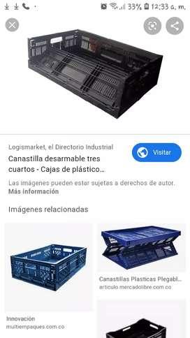 Canastillas plásticas