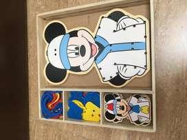 Juego de destreza de Mickey Mouse
