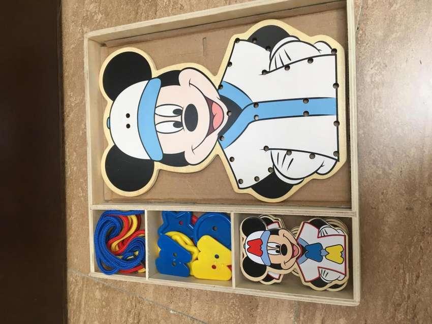 Juego de destreza de Mickey Mouse 0