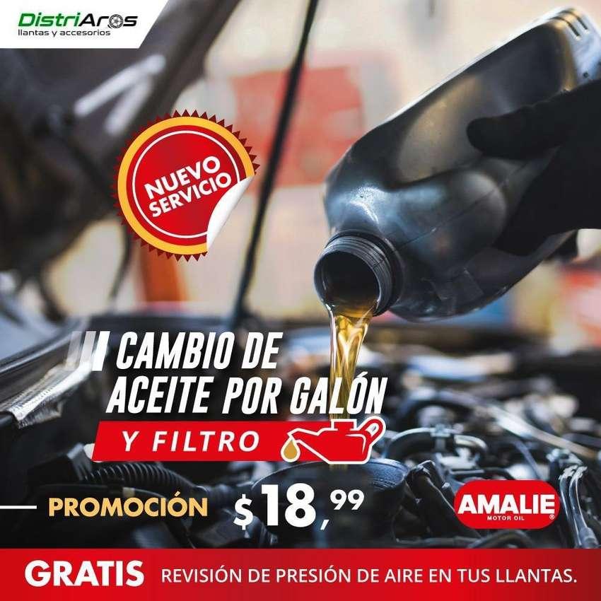 Cambio de aceite y filtro 0