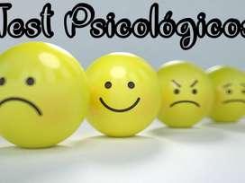 VENTA DE TEST PSICOLOGICOS