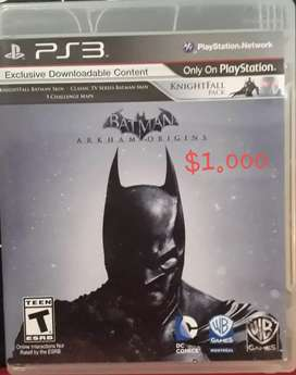 Juego Play 3 Físico BATMAN