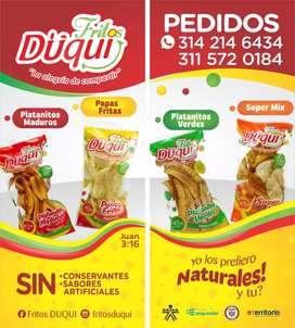 Pasabocas Fritos Naturales
