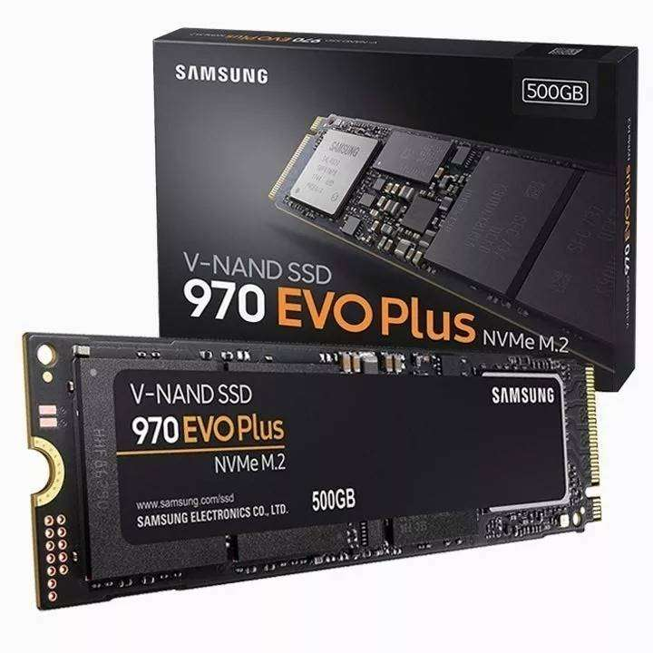 SSD Samsung 970 EVO Plus 500gb 0