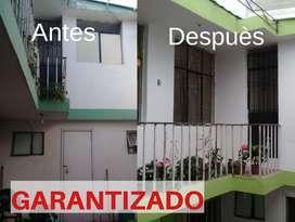 Servicios de pintura, maestros pintores de casas, pintores todo Quito GARANTIZADO