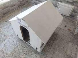 Casa para perro artesanal