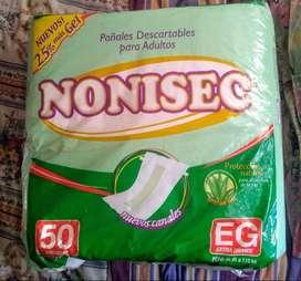 Pañales para adultos NONISEC